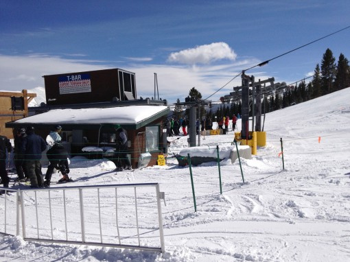 T-Bar at Breckenridge