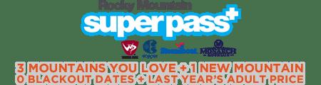 Rocky Mountain Super Pass Plus
