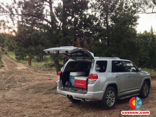 Toyota 4Runner at Gross Reservoir