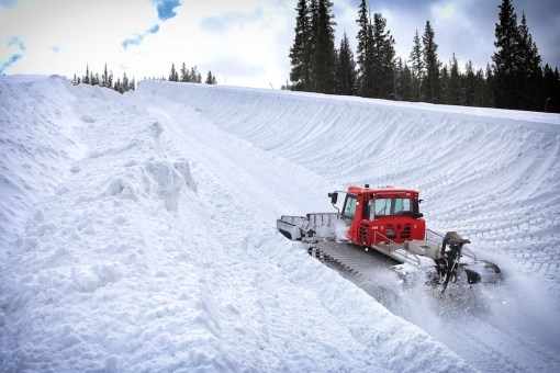 Main Vein Superpipe at Copper Mountain (Photo Credit: Tripp Fay)