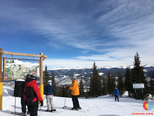 Top of Peak 7 at Breckenridge