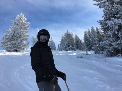 Fresh snow at Game Creek Bowl at Vail