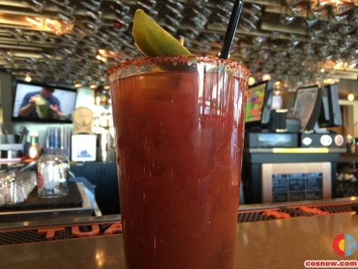 Bacon Bloody Mary at 6th Alley Bar & Grill
