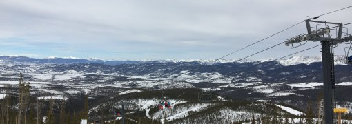 Top of Vasquez Ridge at Winter Park