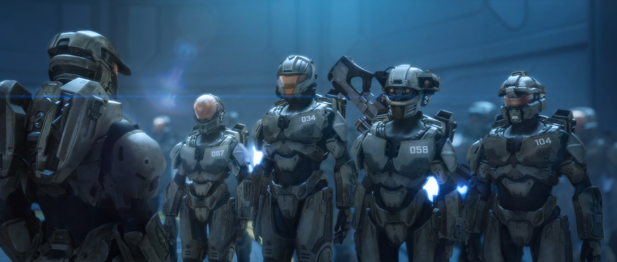 Halo Wallpaper Fall Of Reach Frankie Powers The Master Chief S Inaugural Adventure In