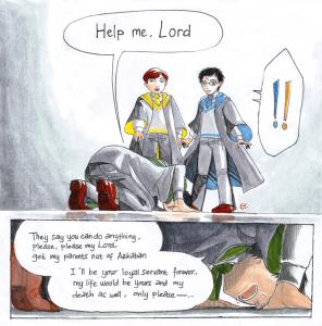 Aiutami mio Signore Harry by dinosaurusgede