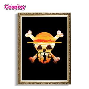 Luffy Poster Framed