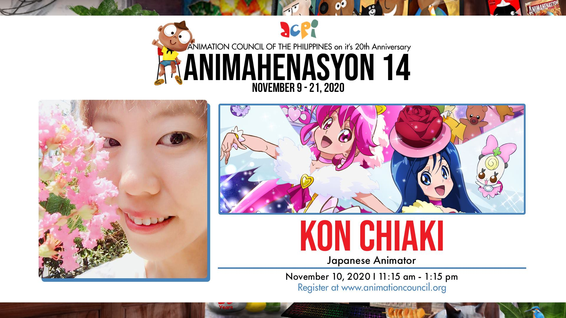 Animahenasyon 14 - Kon Chiaki