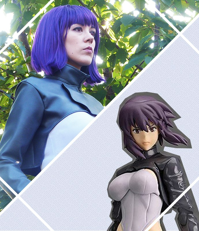 Motoko Kusanagi – Ghost in the Shell