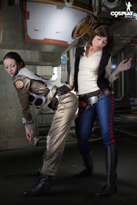 Boomer vs. Han Solo