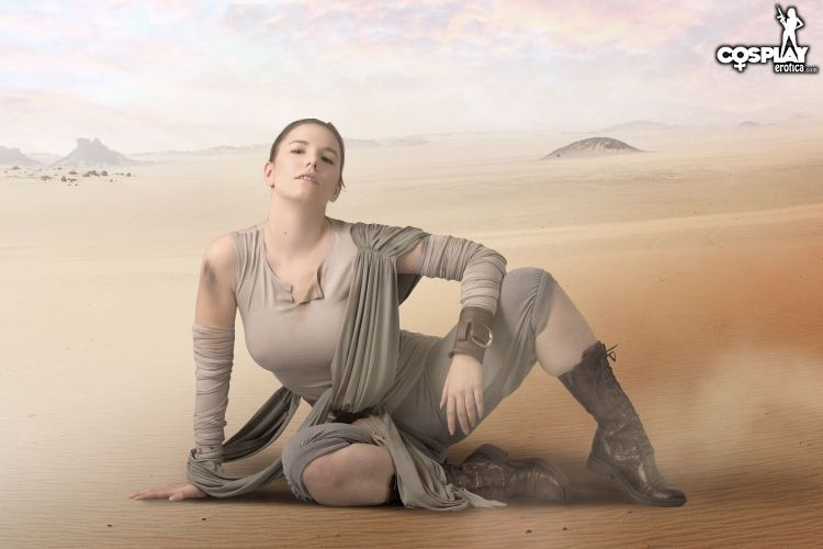Rey  Star Wars  Cosplay Erotica-9163