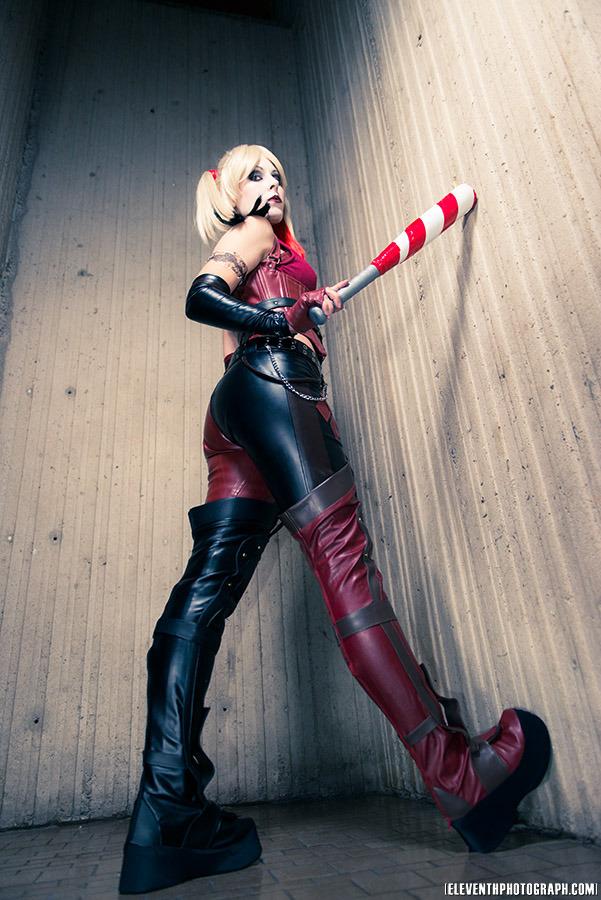 Harley Quinn from Batman Arkham City by Ammie