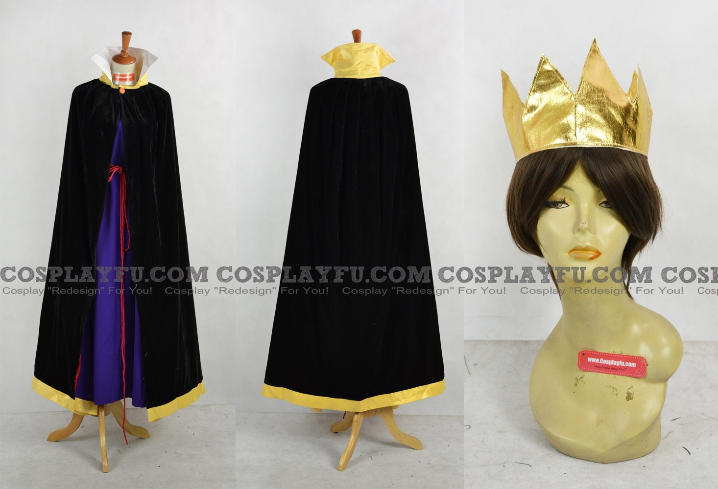 Custom The Evil Queen Cosplay Costume From Snow White