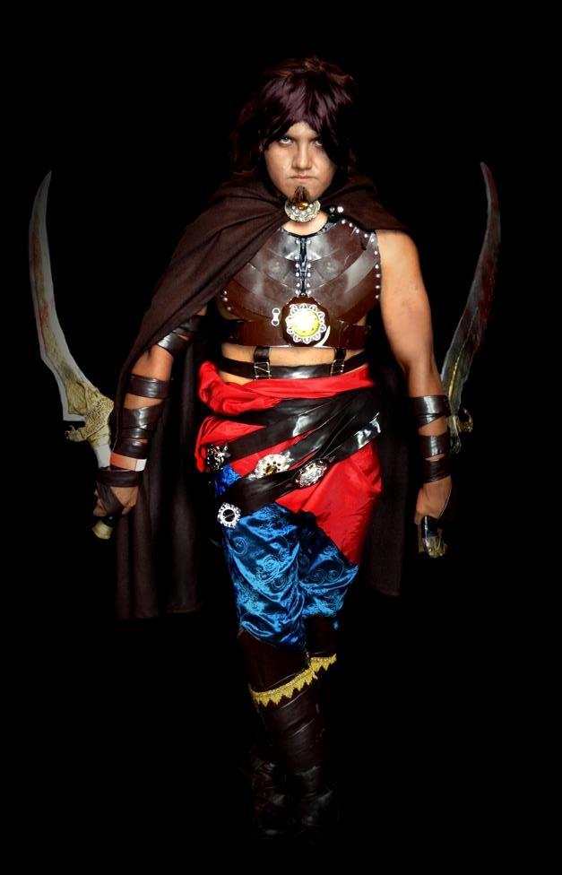 Otaku House Cosplay Idol  Csar Rivadeneyra Prince of Persia from Prince of persia  Warrior