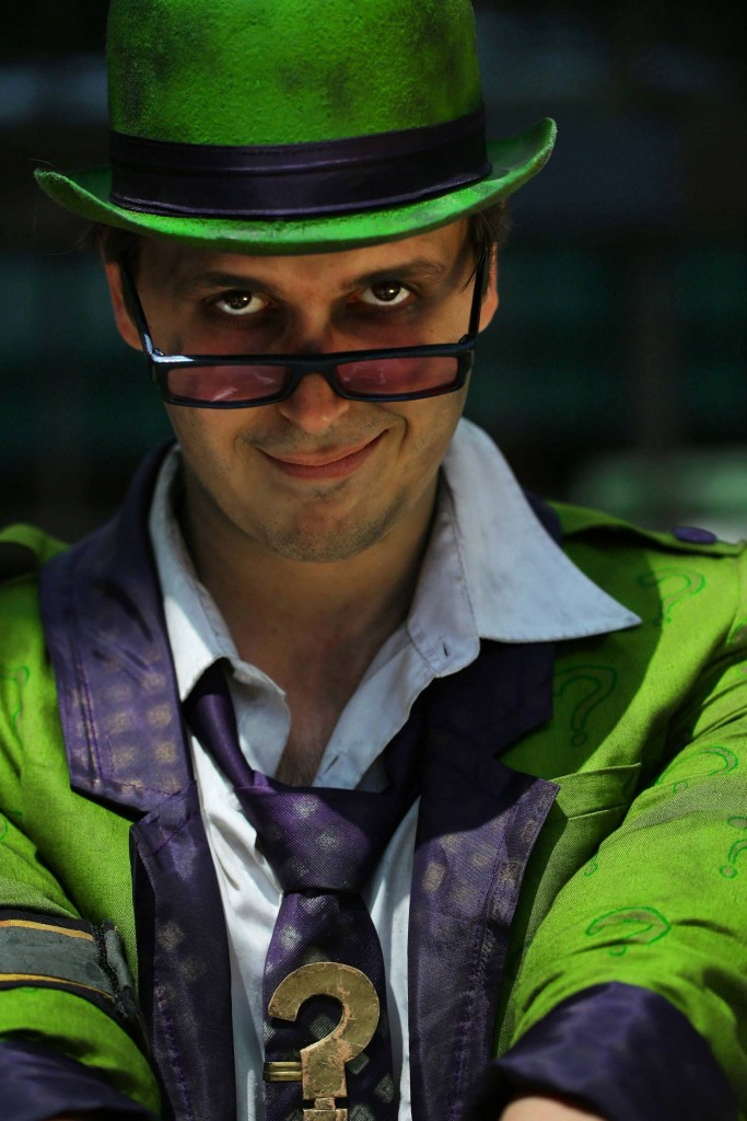 Otaku House Cosplay Idol JampJ Cosplay The Riddler From