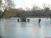 Ice Skating in the Boston Commons