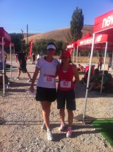 Me and Pinar at the Ankara Half Marathon.
