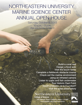 MSC Open House 2013