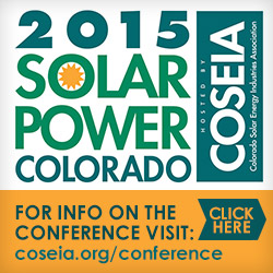2015 Solar Power Colorado Conference