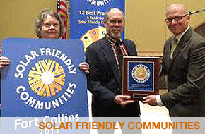 solar friendly communities, Fort Collins
