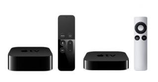 2015年発表の新しい新型AppleTVの外観と機能と値段。