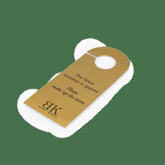 Imprimir etiquetas - Hotel BK - Gráfica no Porto