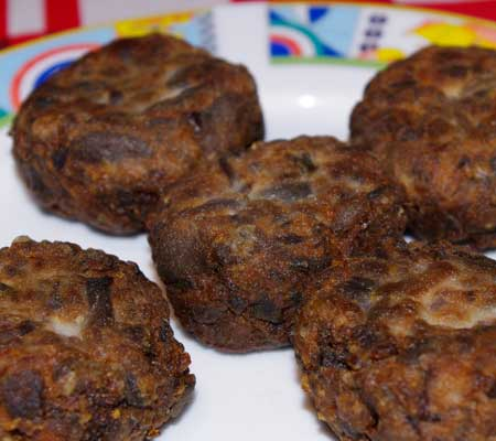 Chiftelute de ciuperci
