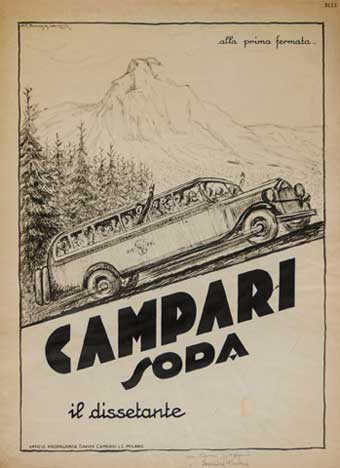 Giorgio Muggiani Campari Soda
