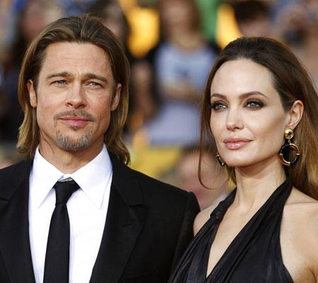 Brad Pitt Angelina Jolie logodna