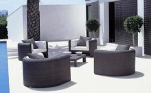 Muebles de Ratan en la Costa