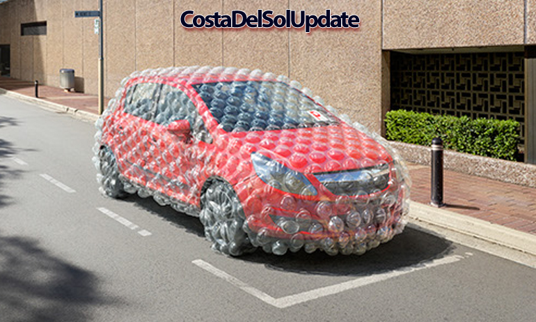 Costa Del Sol Cars Must Be Bubble Wrapped