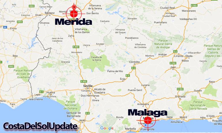 Malaga Merida Airport