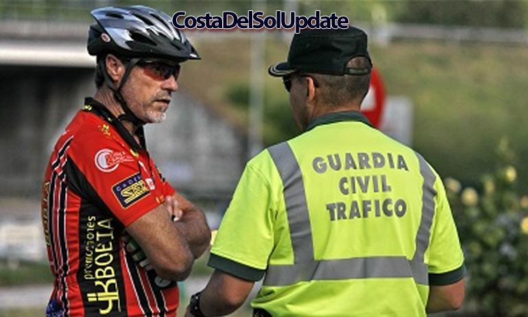 Guardia Civil Cyclist