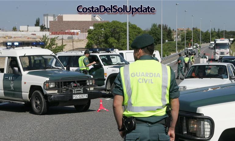 Guardia Civil Roadblock