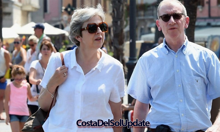 Theresa May Marbella