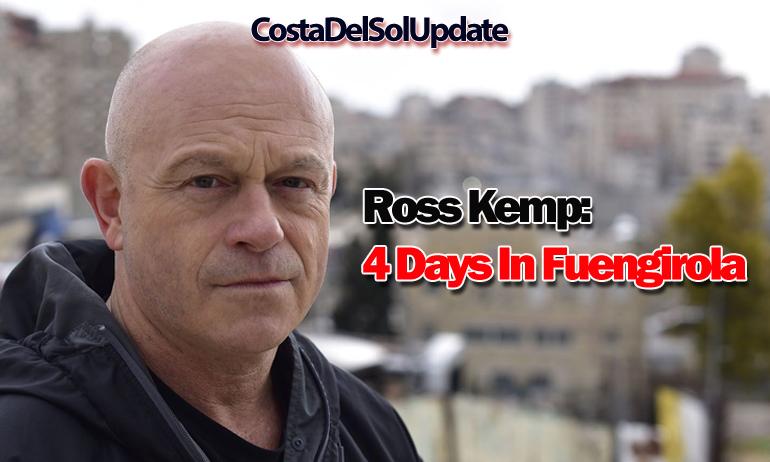 Ross Kemp Fuengirola