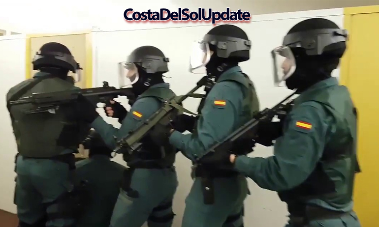 Guardia Civil Armed