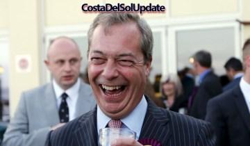 Farage Awarded Top Spanish Honour
