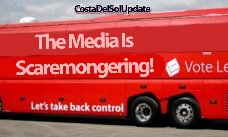 Brexit Bus Scaremongering