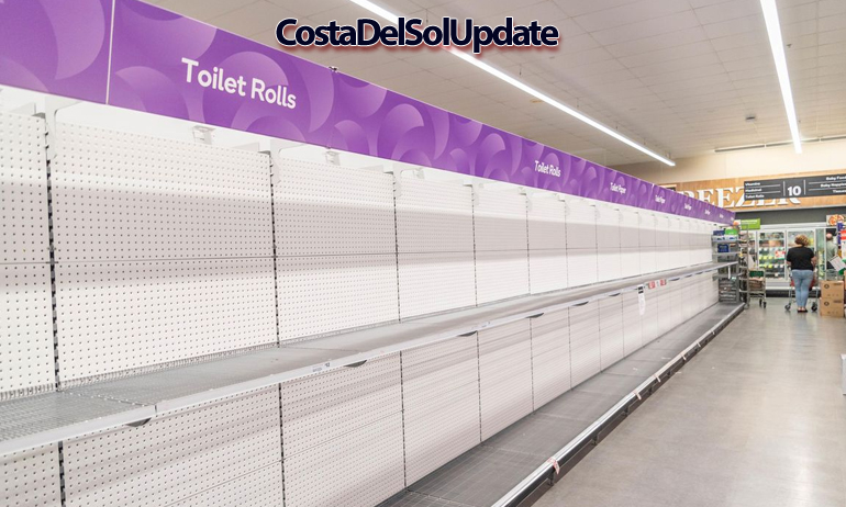 Toilet Roll Shortage