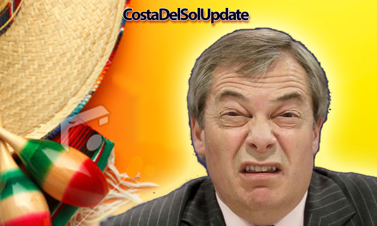 Fury As Farage Accepts Job In Spain