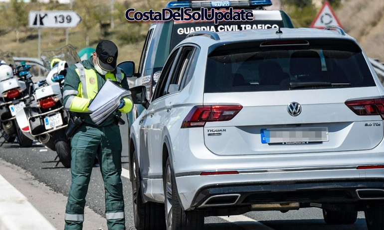 Guardia Civil Road Check