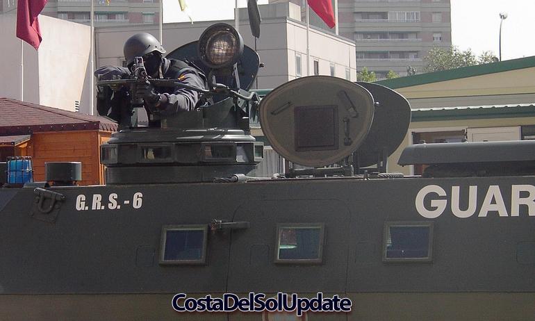 Guardia Civil Tank
