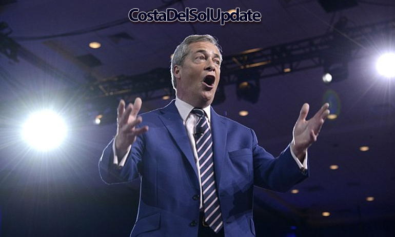 Nigel Farage Singing