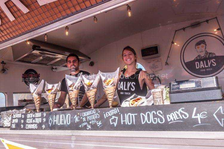 Food Trucks en el Paseo Jaume I de Salou