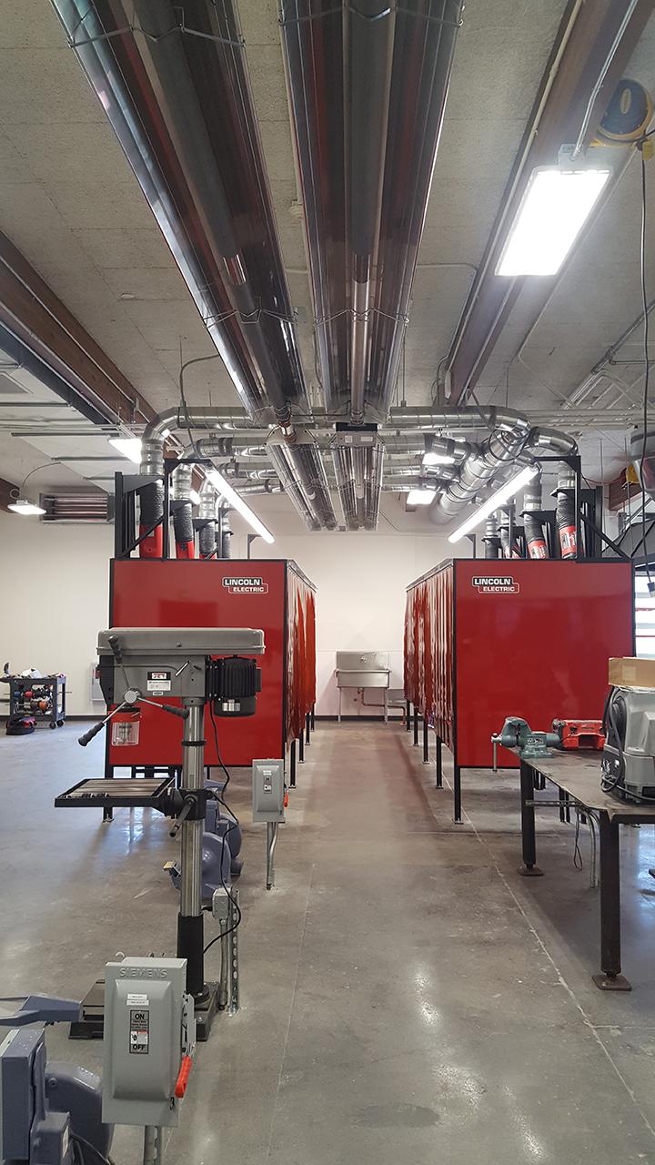 Kennedy High School Welding Lab