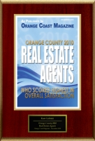 "Kurt Galitski Selected For ""Orange County 2010 Real Estate Agents"""