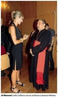 con il card Caffarra a Bologna - 12/9/2013