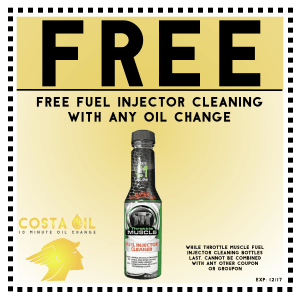 Free Fuel Injector Cleanor W/ Oil Change