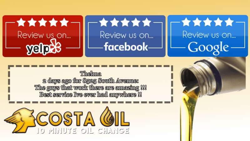 5 Star Oil CHanges